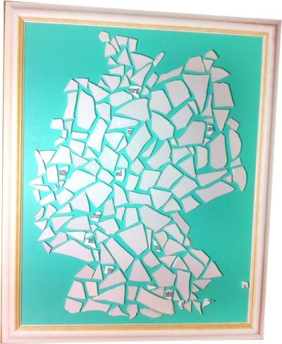 Deutschlandkarte mit Filialen