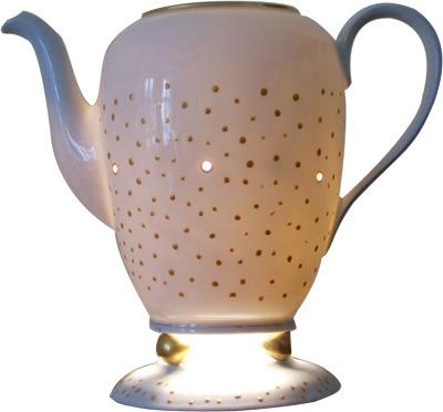 Tischlampe Kaffeekanne