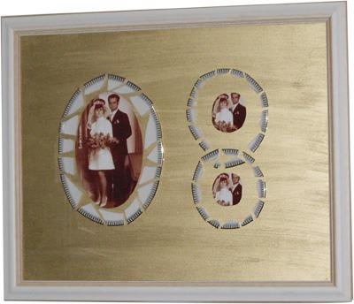 Hochzeitsfotos in Gold