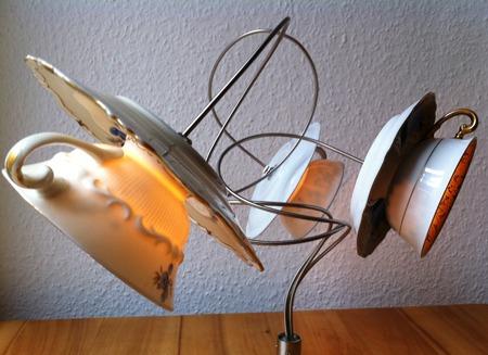 Tischlampe Wackelpudding